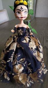 Mexican doll,doll, mexican dress, plush doll,frida